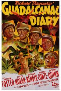 Guadalcanal Diary - 27 x 40 Movie Poster - Style A