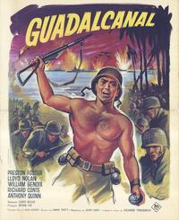 Guadalcanal Diary - 11 x 17 Movie Poster - French Style A
