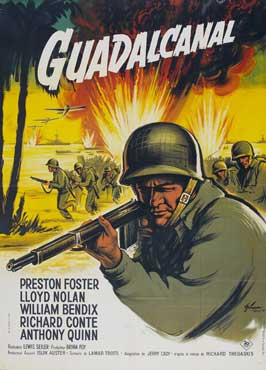 Guadalcanal Diary - 11 x 17 Movie Poster - French Style B