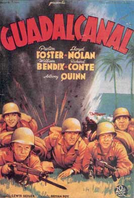 Guadalcanal Diary - 11 x 17 Movie Poster - Spanish Style A