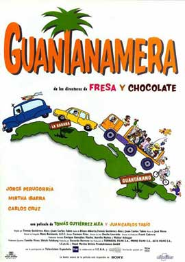 Guantanamera - 11 x 17 Movie Poster - Spanish Style A