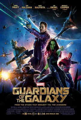 Guardians of the Galaxy - 27 x 40 Movie Poster - Style A