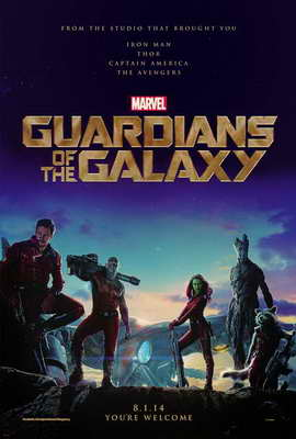Guardians of the Galaxy - 27 x 40 Movie Poster - Style B