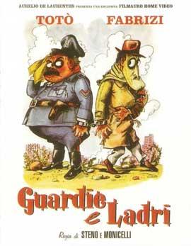 Guardie e ladri - 11 x 17 Movie Poster - Italian Style A
