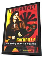 Guerrilla: The Taking of Patty Hearst - 27 x 40 Movie Poster - Style A - in Deluxe Wood Frame