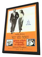 Guess Who's Coming to Dinner - 11 x 17 Movie Poster - Style B - in Deluxe Wood Frame