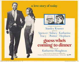 Guess Who's Coming to Dinner - 22 x 28 Movie Poster - Half Sheet Style A