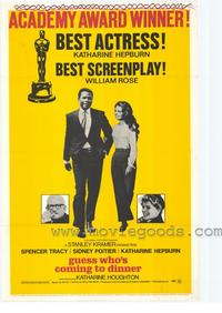 Guess Who's Coming to Dinner - 43 x 62 Movie Poster - Bus Shelter Style A