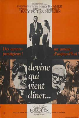 Guess Who's Coming to Dinner - 27 x 40 Movie Poster - French Style A
