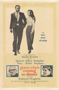 Guess Who's Coming to Dinner - 43 x 62 Movie Poster - Bus Shelter Style B