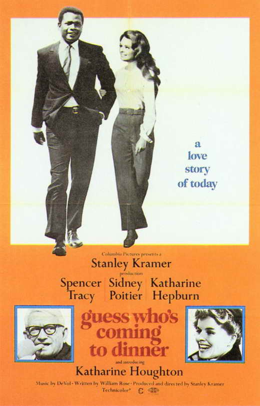 guess who is coming for dinner Film as a reflection of society: interracial marriage and stanley kramer's guess  who's coming to dinner in late 1960s america katie anderson.