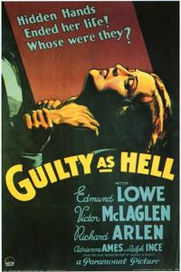 Guilty as Hell - 11 x 17 Movie Poster - Style A
