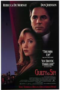 Guilty as Sin - 11 x 17 Movie Poster - Style A