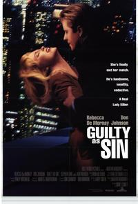 Guilty as Sin - 11 x 17 Movie Poster - Style B