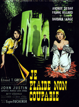 Guilty? - 11 x 17 Movie Poster - French Style A