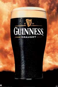 guinness draught - Party/College Poster - 24 x 36 - Style A