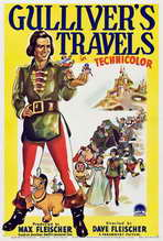 Gulliver's Travels - 27 x 40 Movie Poster - Style B