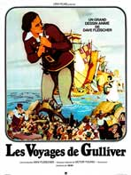 Gulliver's Travels - 27 x 40 Movie Poster - French Style A