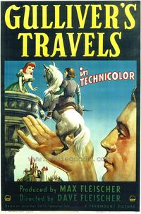 Gulliver's Travels - 43 x 62 Movie Poster - Bus Shelter Style A