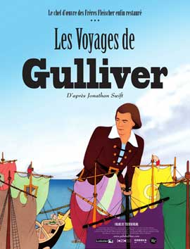 Gulliver's Travels - 11 x 17 Movie Poster - French Style B