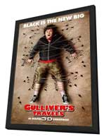 Gulliver's Travels - 27 x 40 Movie Poster - Style A - in Deluxe Wood Frame