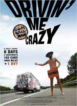 Gumball 3000: Drivin' Me Crazy - 11 x 17 Movie Poster - Style A