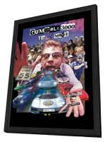Gumball 3000: The Movie - 11 x 17 Movie Poster - Style A - in Deluxe Wood Frame