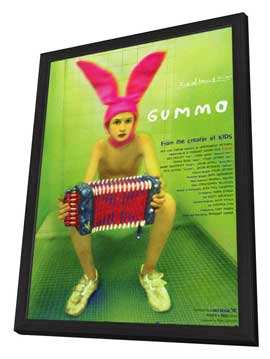 Gummo - 11 x 17 Movie Poster - Japanese Style A - in Deluxe Wood Frame