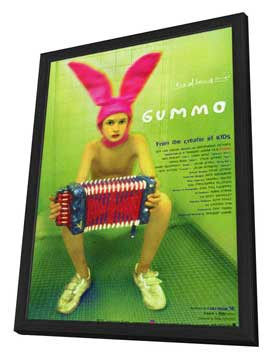 Gummo - 27 x 40 Movie Poster - Japanese Style A - in Deluxe Wood Frame
