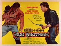 Gun Brothers - 11 x 14 Movie Poster - Style A