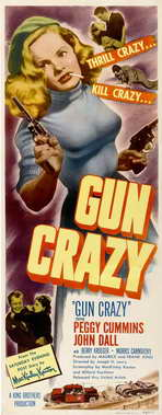 Gun Crazy - 14 x 36 Movie Poster - Insert Style A