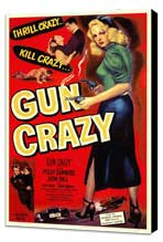 Gun Crazy - 11 x 17 Movie Poster - Style A - Museum Wrapped Canvas