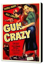 Gun Crazy - 27 x 40 Movie Poster - Style A - Museum Wrapped Canvas