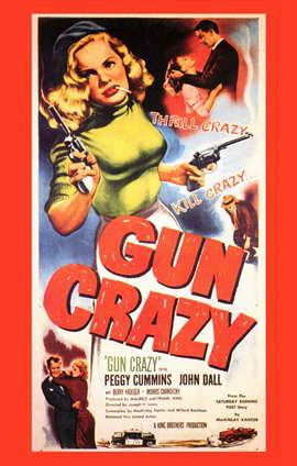 Gun Crazy - 11 x 17 Movie Poster - Style B