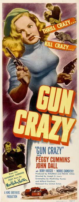 Gun Crazy - 14 x 36 Movie Poster - Insert Style A