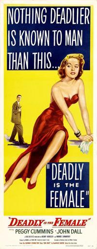 Gun Crazy - 14 x 36 Movie Poster - Insert Style B