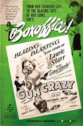 Gun Crazy - 27 x 40 Movie Poster - Style C
