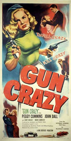 Gun Crazy - 27 x 40 Movie Poster - Style B