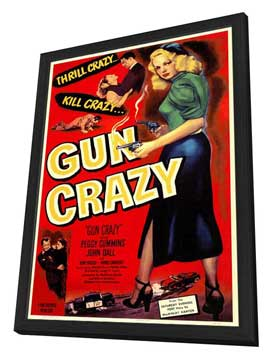 Gun Crazy - 11 x 17 Movie Poster - Style A - in Deluxe Wood Frame