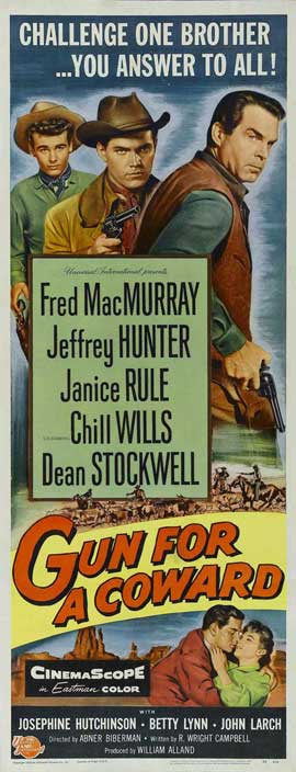 Gun for a Coward - 14 x 36 Movie Poster - Insert Style A