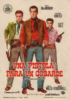 Gun for a Coward - 11 x 17 Movie Poster - Style A