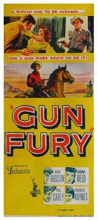 Gun Fury - 13 x 30 Movie Poster - Australian Style A