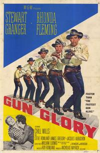 Gun Glory - 11 x 17 Movie Poster - Style A