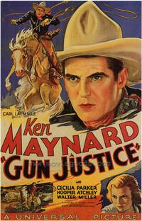 Gun Justice - 27 x 40 Movie Poster - Style B