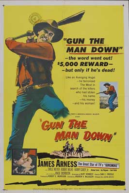 Gun the Man Down - 27 x 40 Movie Poster - Style A