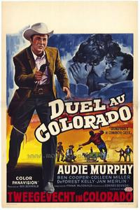 Gunfight at Comanche Creek - 27 x 40 Movie Poster - Belgian Style A