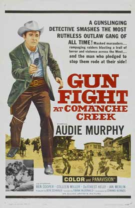 Gunfight at Comanche Creek - 11 x 17 Movie Poster - Style A