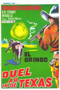 Gunfight at Red Sands - 11 x 17 Movie Poster - Belgian Style A