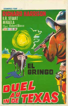 Gunfight at Red Sands - 27 x 40 Movie Poster - Belgian Style A