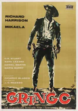 Gunfight at Red Sands - 11 x 17 Movie Poster - Spanish Style A